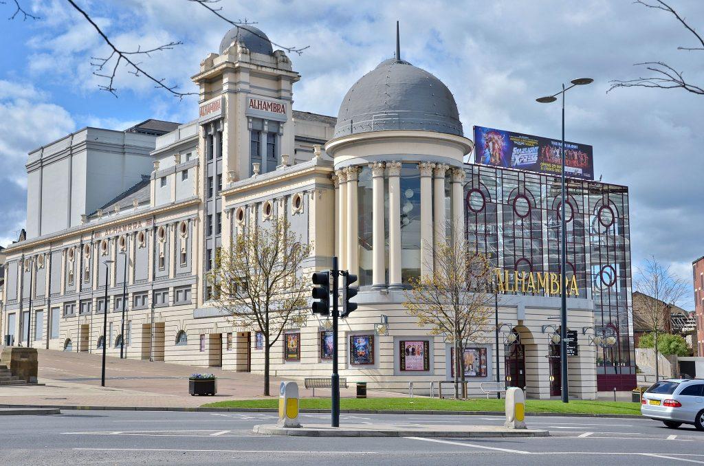 Alhambra Theatre, Bradford, exterior