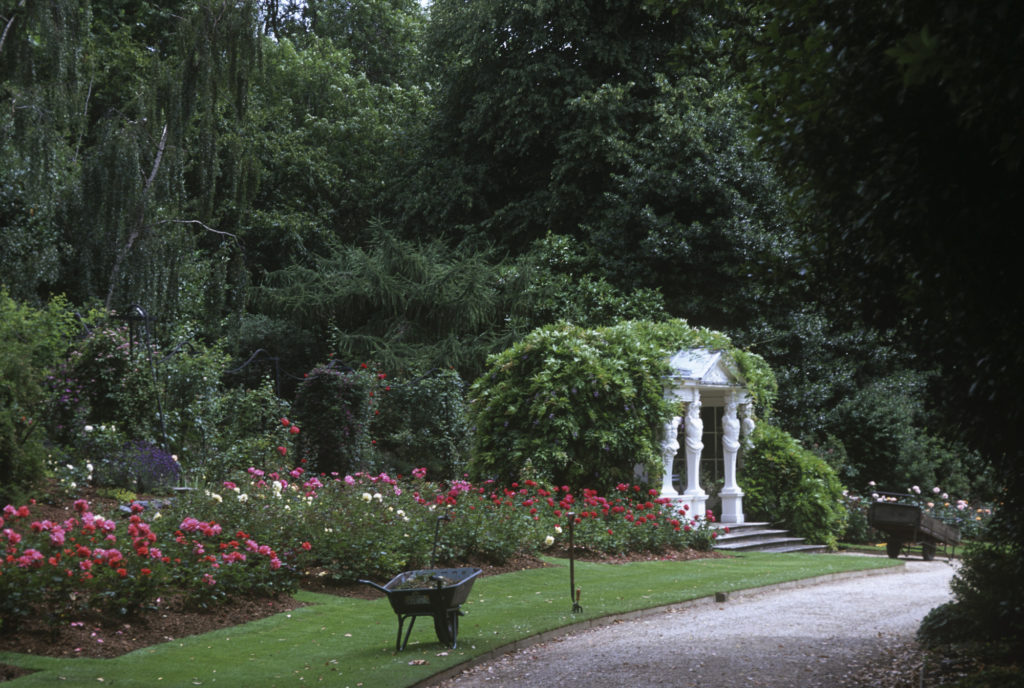 Buckingham Palace Summerhouse and Rose Garden