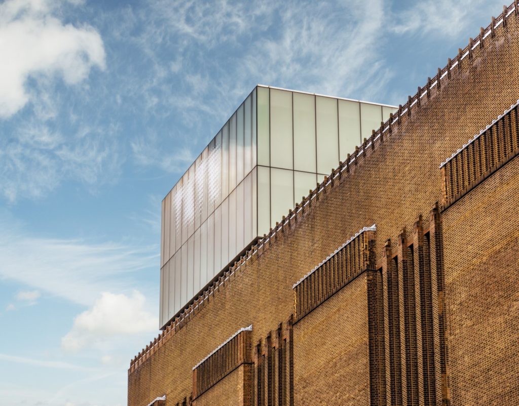 Exterior view of Tate Modern