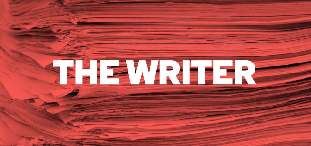 The Writer, Almeida Theatre Publicity Image