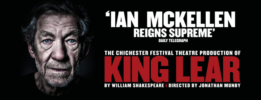 King Lear Duke of York's Publicity Image