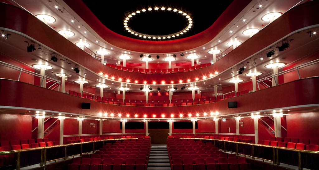 New Athenaeum Theatre interior