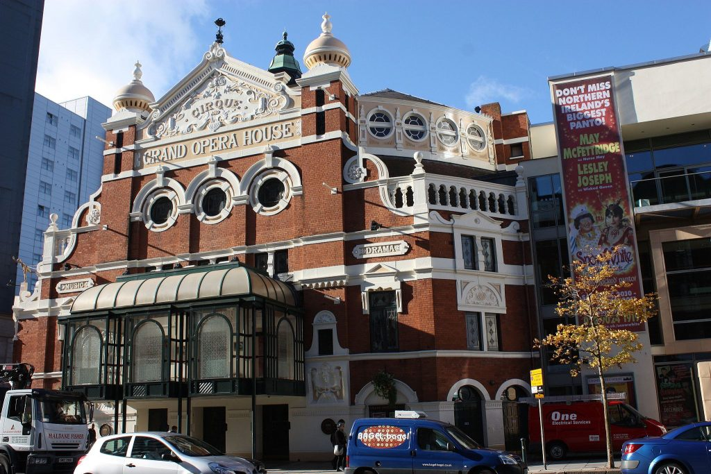 Grand Opera House Belfast exterior