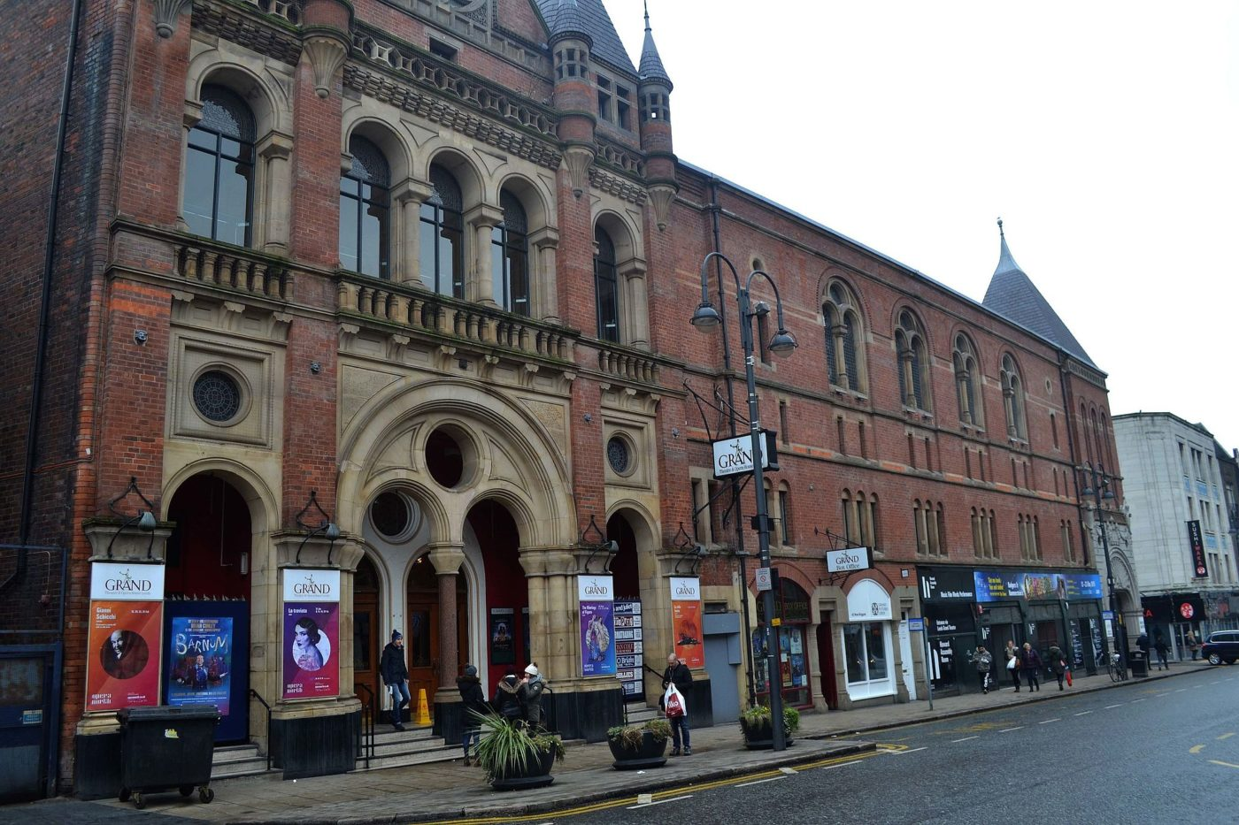 Leeds Grand Theatre and Opera House exterior