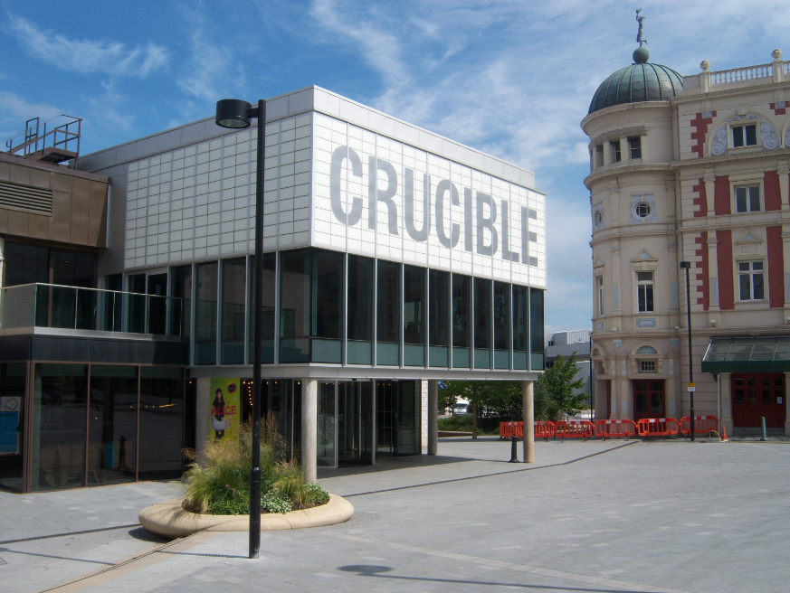 Exterior shot of Crucible theatre