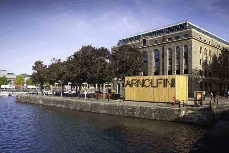 Exterior of Arnolfini, Bristol