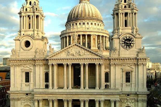 Exterior of St Pauls Cathedral