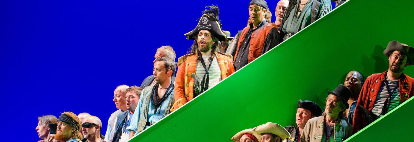 Pirates of Penzance: the company