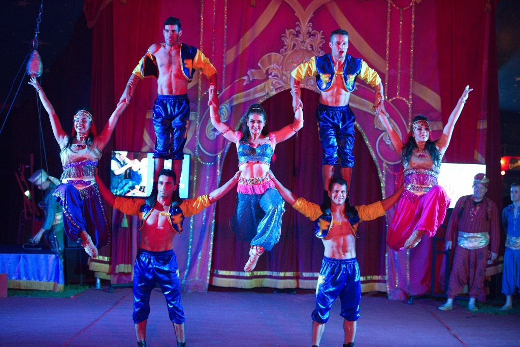 7 circus performers