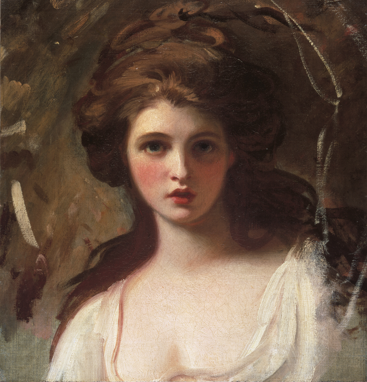 Painting of Emma Hart as Circe, c. 1782 by George Romney