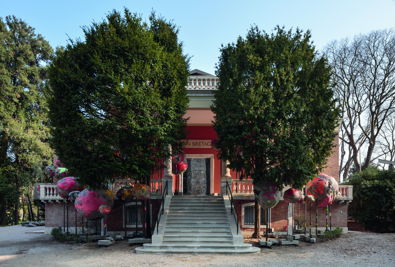 View of the British Pavilion, Venice Biennale