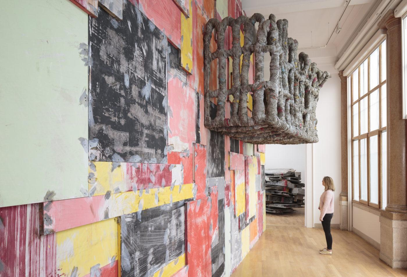 Installation view, folly, Phyllida Barlow