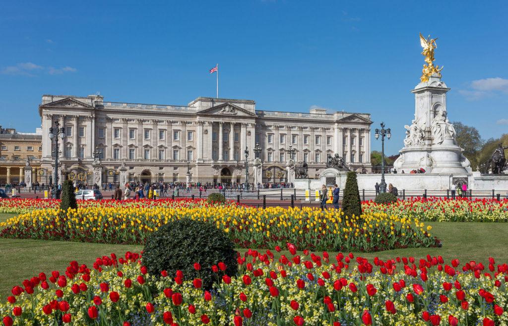 Buckingham Palace, exterior