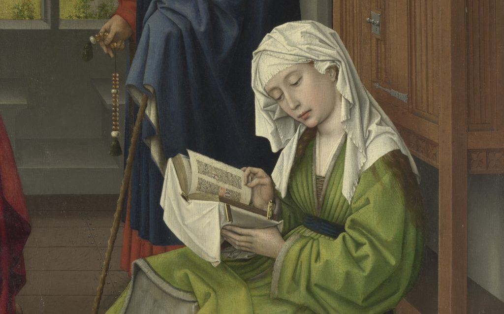 Detail The Magdalen Reading