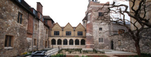 Entrance of Charterhouse