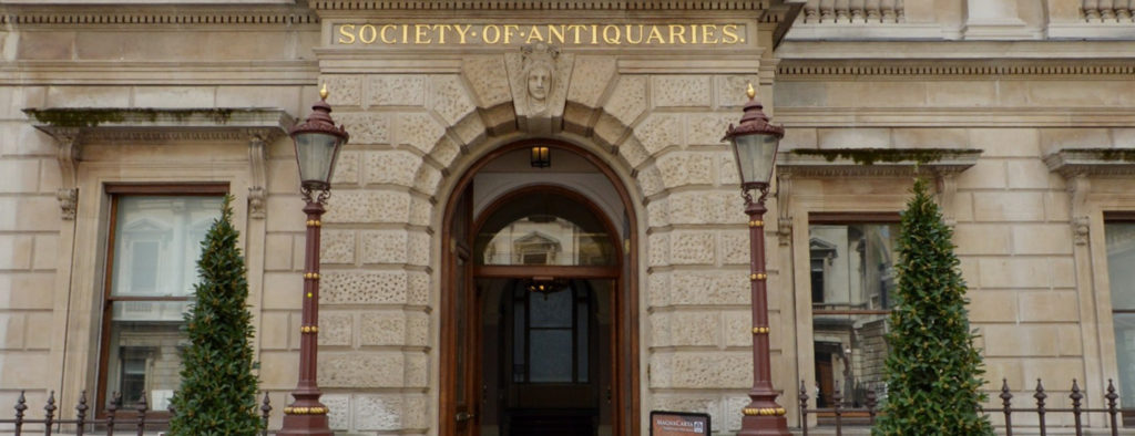 Entrance of Society of Antiquaries