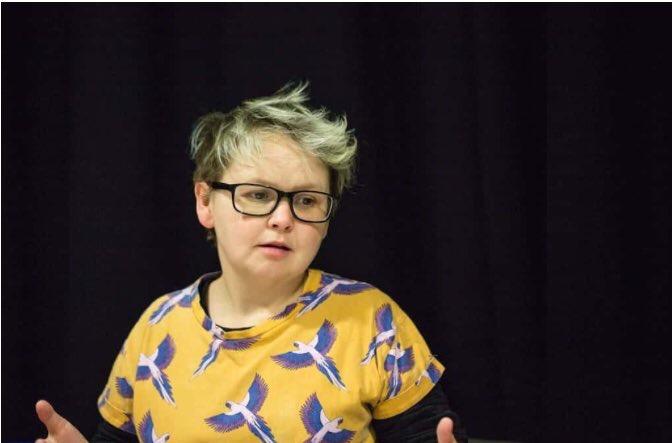 Associate Director, Graeae Theatre company, Nickie Miles-Wildin