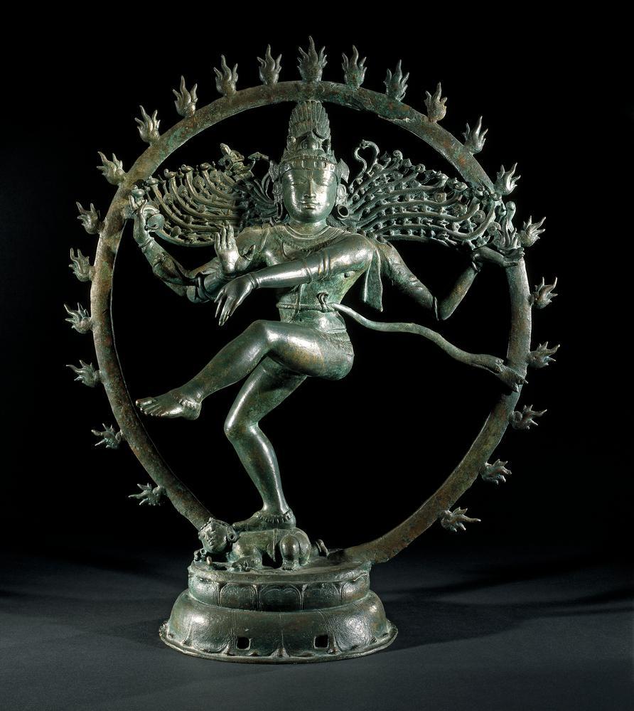 Bronze figure of Shiva Nataraja, India