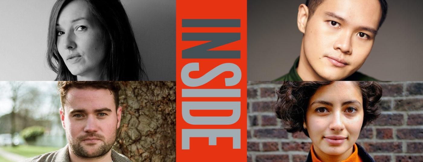 Publicity image for Inside, at Orange Tree Theatre. Writers Deborah Bruce, Joel Tan and Joe White, and director Anna Himali Howard
