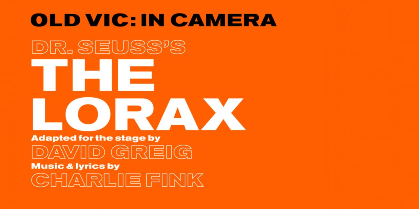 Publicity image for The Lorax, a Old Vic production