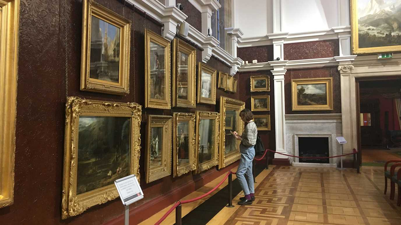 Royal Holloway Picture Gallery interior